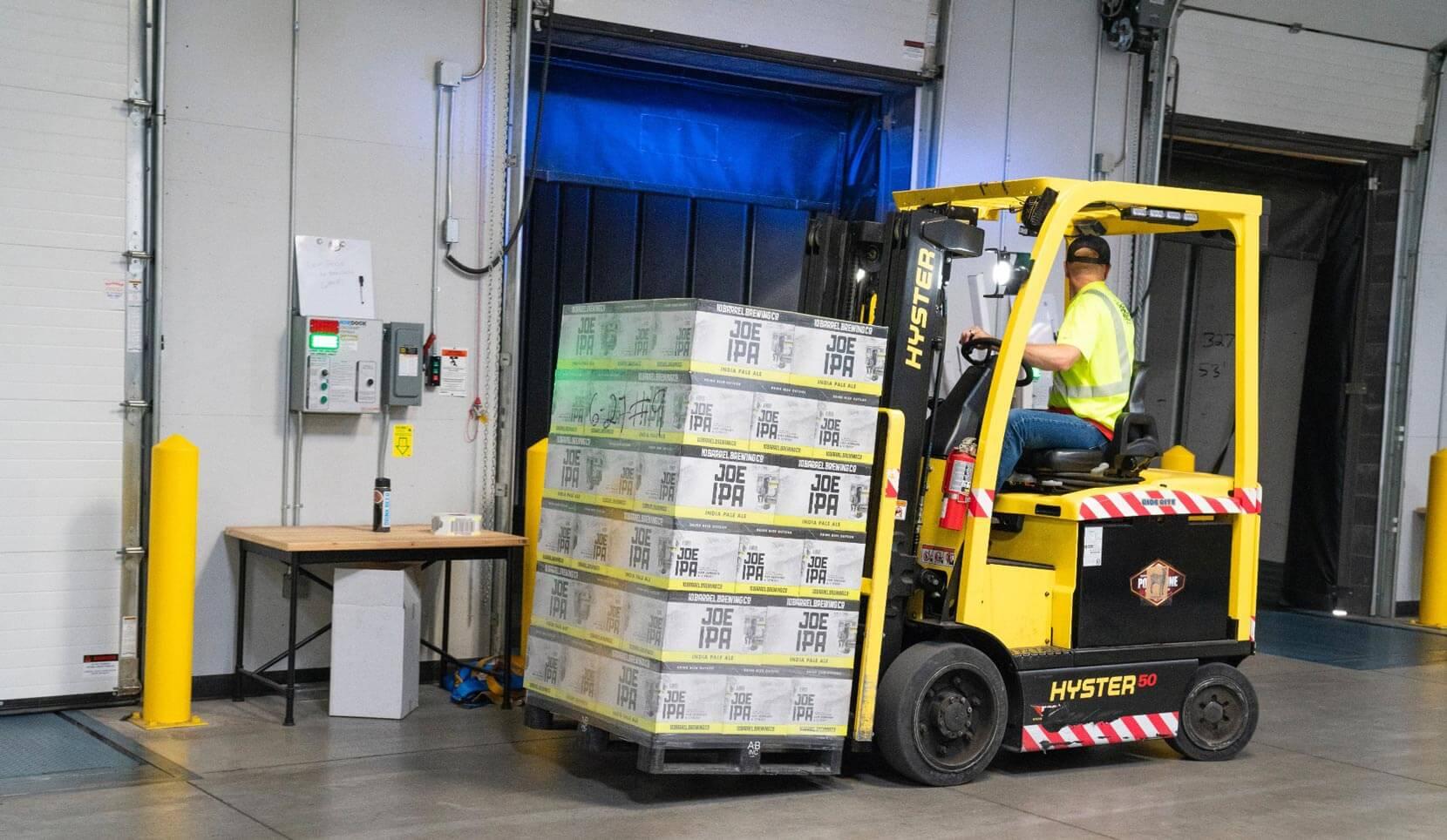 logistica distribuidora de alimentos
